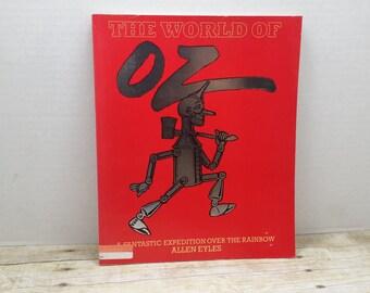 The World of Oz, 1985, Allen Eyles, vintage movie book
