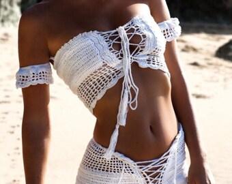 Crochet Bikini Short