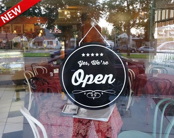 Open Sign, Open Closed sign,Vintage Style, Vintage style open closed sign. Store Sign, Business Sign