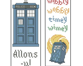 Dr Who Bookmarks