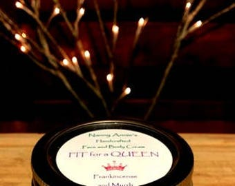 Fit for a Queen Handcrafted Face and Body Cream