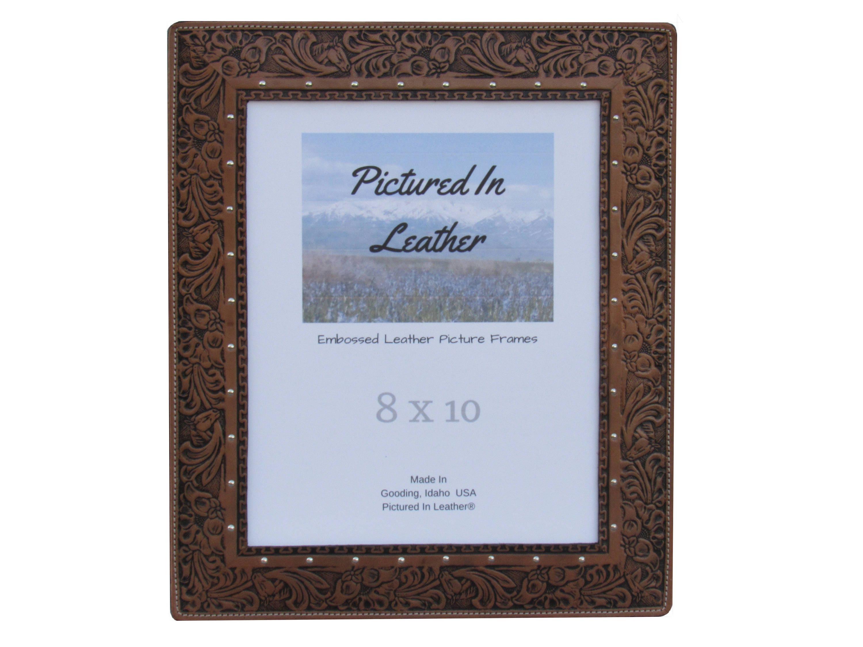 Marco familiar, marco de 8 x 10 cuero, marco de caballo, ranchera ...