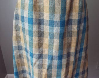 Vintage Wool Skirt by Haymaker