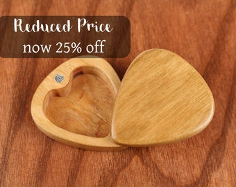 DISCONTINUED - REDUCED PRICE Slender Guitar Pick Box, Customizable, 2-1/4
