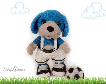 """Crochet pattern """"Puppy"""""""