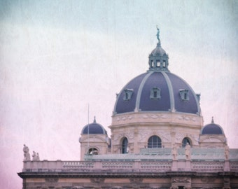 Vienna, Austria - Architecture - Travel - Fine Art Photograph - Domes Over Vienna