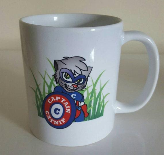 Coffee Mug By Captain Catnip