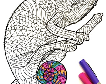 Dolphins PDF Zentangle Coloring Page