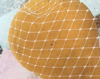 English Birdcage Veil