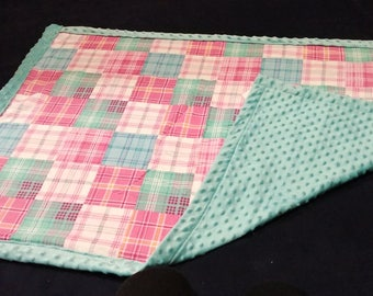 Minky / Flannel baby blanket