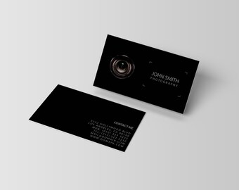 Photography business card template etsy best selling items favorite favorited add to added photography business card template wajeb Choice Image