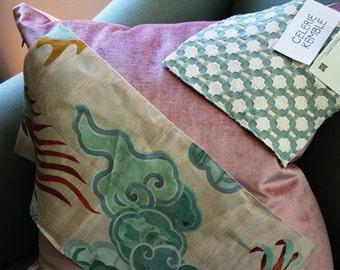 Carlton V Puff Chinoiserie Cushion Pillow Cover