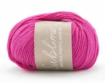 Extra Fine Merino Wool DK - Sublime