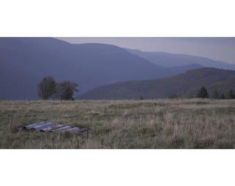 Landscape photography 90x40cm.