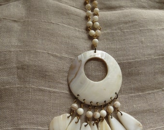 Mother Of Pearl Vintage Choker