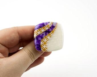 purple aura Ring
