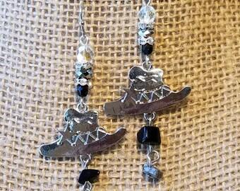Cowboy Hat Earrings, Western Earrings, Earrings