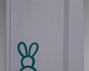 Bunny Notebook - White