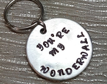 You're my wonderwall keyring | oasis | boyfriend gift | girlfriend gift | boyfriend | girlfriend | valentines gift for him for her