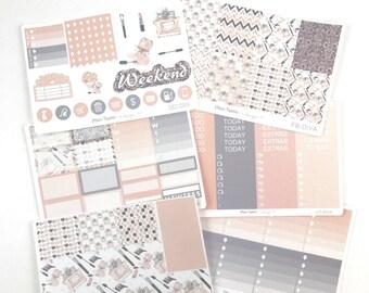 Diva Weekly Kit / Planner Stickers / Erin Condren Planner Stickers / Vertical