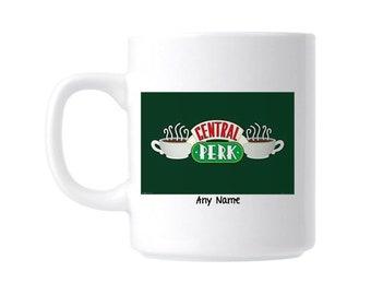 Personalised Gift Mug Friends Central Perk