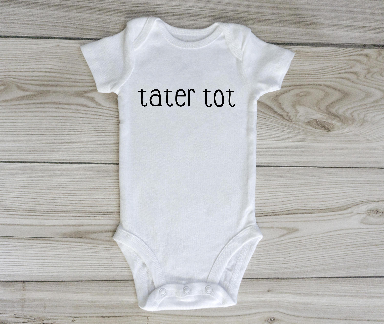 tater tot onesie custom baby onesie gender neutral baby