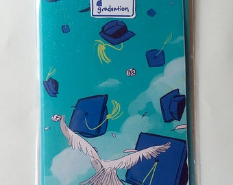 Graduation Greeting Card With Envelope