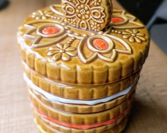 Sandwich Cookie cookie jar - Made in Japan