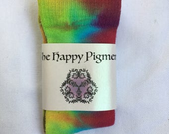 Tie dyed socks toddler size