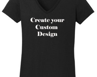 Custom Rhinestone or Vinyl Design T-Shirt Made to order