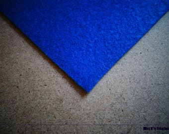 Felt square blue 5x5cm ideal for your creations