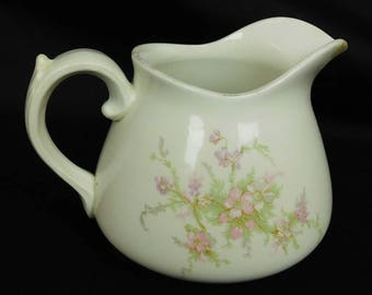Knowles Taylor and Knowles K.T. & K Co. Vitreous Porcelain Semi Dinner Wear Milk Pitcher 1900-1931