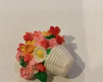Hallmark Bouquet Brooch