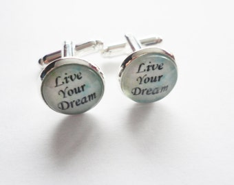 Cufflinks Live your Dream