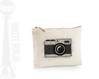 case, little bag medium  'Camera - drawing'
