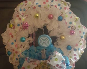 Candyland Wreath