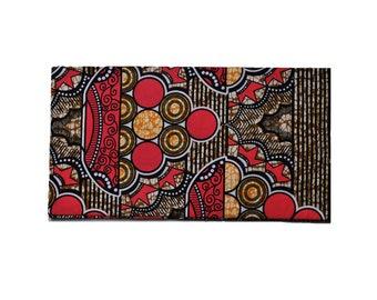 pink/blue geometric fabric headwrap // african head wrap // ankara headwrap // ankara head wrap // ankara scarf // african scarf // turban