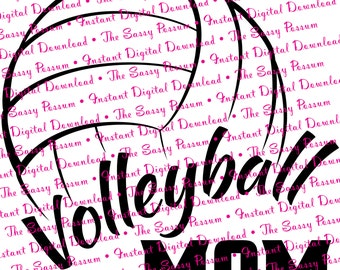 Volleyball Mom Etsy
