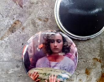 "Pinback or Magnet 2.25"" Dirty Dancing I Carried a Watermelon 80s Movie Button Fridge Magnet"