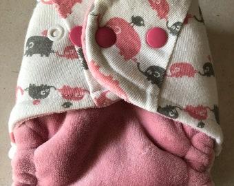 Newborn Small Fitted Cloth Diaper