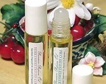 Peach Cream Perfume Oil Fragrance Scent Roll on Perfume - Vegan - Peachy Fruity Cologne Perfume - Peach Vanilla Cologne - Paraben-free Scent