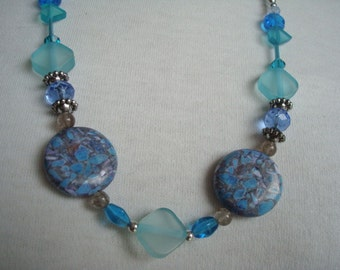 Turquoise Blue Heaven necklace