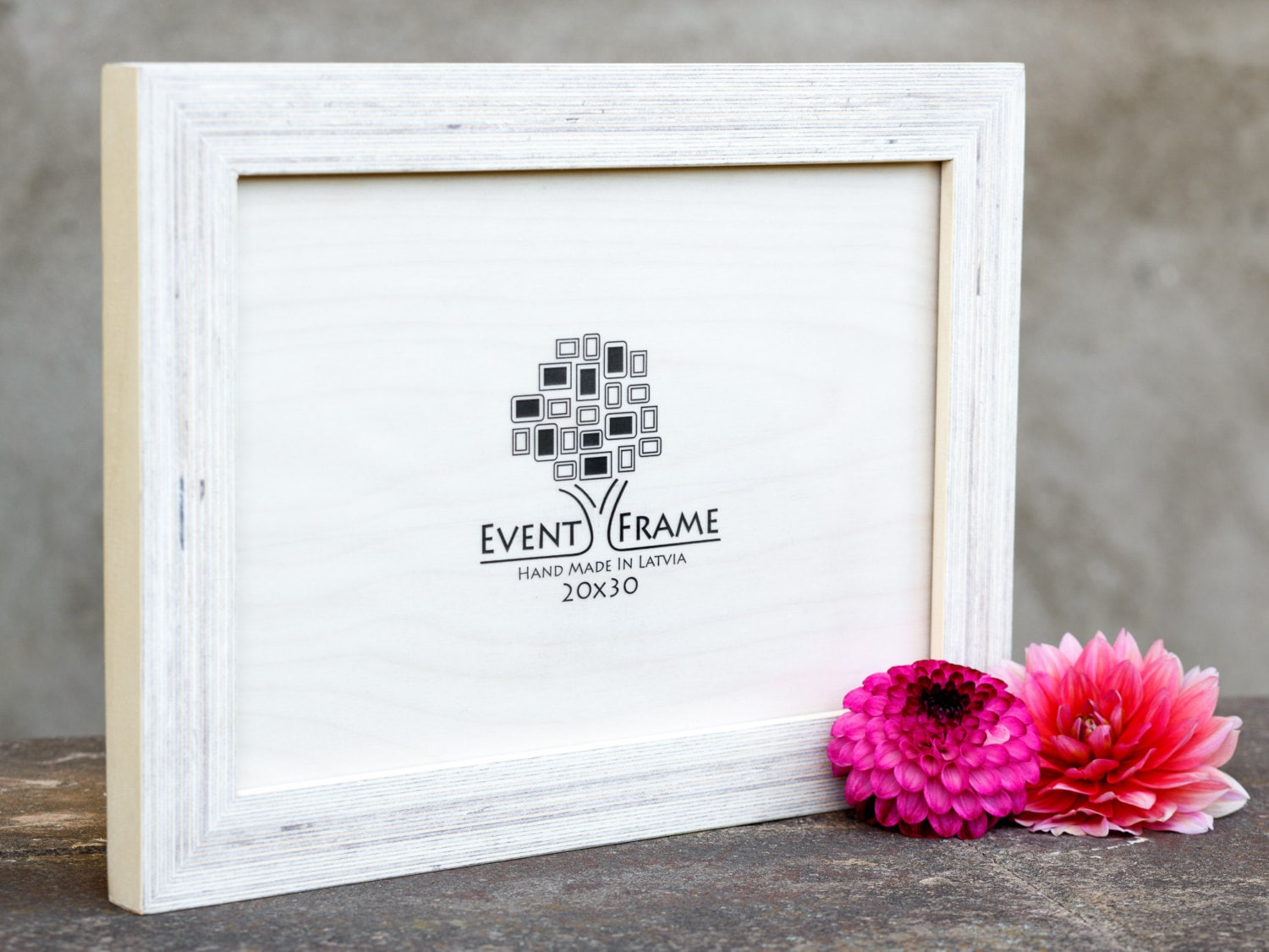 8x12 Picture frame, 20x30 cm Unique Wooden Rustic Design, Baltic ...