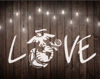 Marine Love Svg