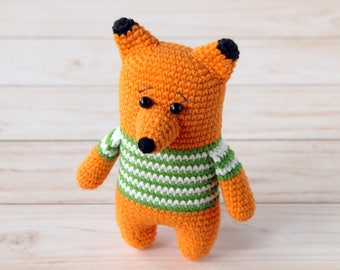 amigurumi FOX PATTERN fox amigurumi pattern crochet fox pattern fox toy pattern woodland animals pattern crochet animal patterns amigurumi