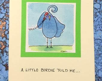 Little Birdie Told Me~ Congrats