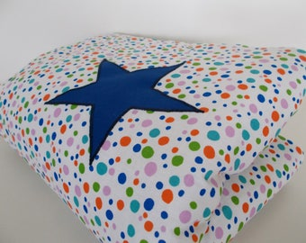 One pea star baby blanket