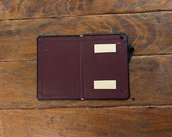 SECONDS - Walden Collection for iPad Mini/Retina - Onyx Black with Merlot Red Interior