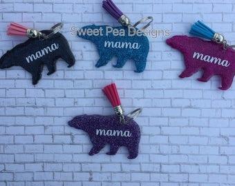 Mama Bear Keychain