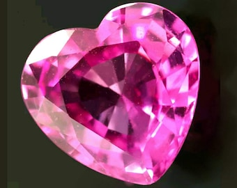 Striking luster Natural Pink Sapphire 1.25cts from Tanzania